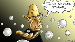 viñeta de Javier Quero en La Gaceta de los Negocios