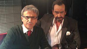 José Mota y Javier Quero interpretando a Carlos Herrera en La hora de José Mota TVE