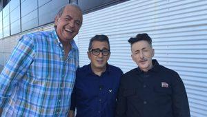 Javier Quero, Andreu Buenafuente y David Fernández en Late Motiv de 0#